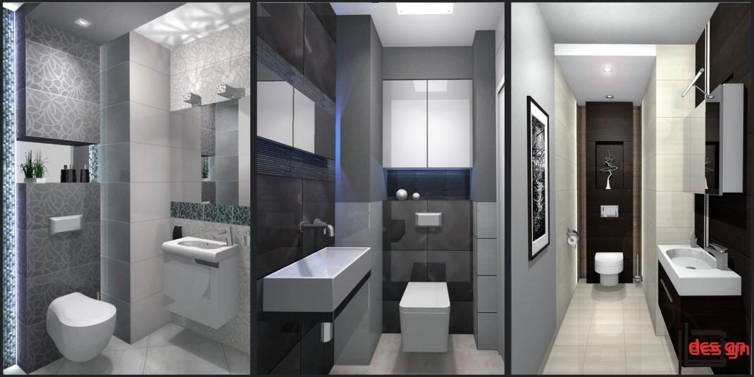 Projekty małych toalet