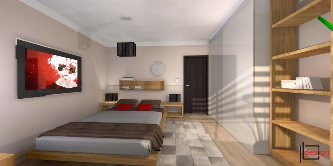 Projekt pokoju sypialnego